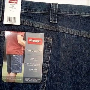 NWT Wrangler Carpenter Loose Fit Shorts Size 54